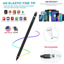 For iPhone iPad iPod Samsung PC Sensitive Rechargeable Touch Screen Stylus Pen