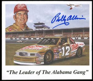 Bobby Allison NASCAR Authentic Signed 3.25x3.75 Promotional Card BAS #E49025