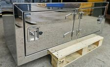 Side locker truck toolbox stainless steel hgv trailer .