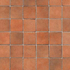 1/12 Dolls House Embossed Terracotta Small Floor Tiles A3 Sheet Card DIY786A
