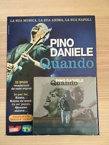 Pino Daniele _ Quando _ 3 X CD Album digipak _ 2017 NUOVO SIGILLATO