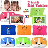 """7"""" Tablet Google Android PC 8GB WIFI 3G Quad Core HD Dual Camera for Boys Girls"""