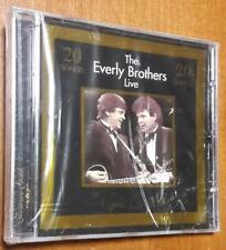 The Everly Brothers ~ Live - New CD with 20 Tracks