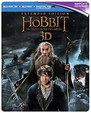 Hobbit:-The Battle Of The Five Armies - Extended Edition  Blu-Ray NEW