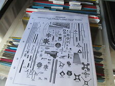 Dempster #15  Windmill Parts List & Diagrams