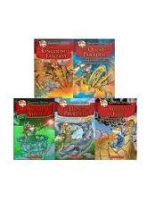 Geronimo Stilton The Kingdom of Fantasy Collection Set 1-5 Fiction Series in HC!