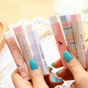 Elegant Long Cleansing Drawing Painting Rubber Eraser Stationary Gift 1M HB