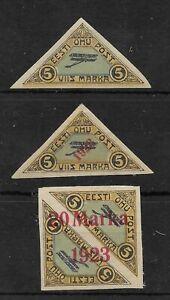 Estonia Air Stamps