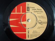 "Queen Crazy Little Thing Called Love A-2 B-1U UK 7"" EMI 5001 1979 EX"