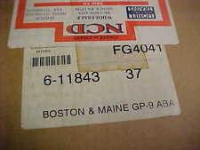 LIONEL,,,,# 11843-------BOSTON & MAINE GP-9 ABA SET