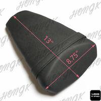 Black Leather Passenger Back Rear Seat Pillion For 2010-2013 Kawasaki Z1000