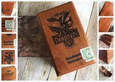 Thompson Co. Wooden Cigar Box Vintage Tobacco Advertising Art Deco Latch