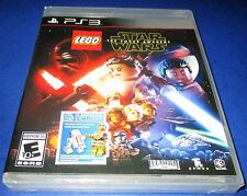 LEGO Star Wars: The Force Awakens Sony PlayStation 3 *New-Sealed-Free Ship!