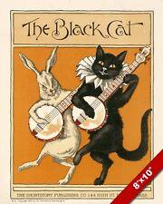ART PRINT ADVERT ZWICKY COTTON SWITZERLAND BLACK CAT REEL THREAD COOL NOFL0566