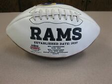 "St. Louis Rams ""Established 1937"" Football NFL"