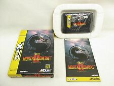 MORTAL KOMBAT II 2 Item ref/177 Mega Drive Super 32x Sega Japan Game md