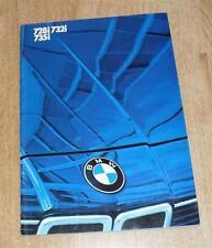BMW 7 Series Brochure E23 728I 732I 735I Rare - 1983