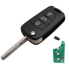 Key 3 Button for Hyundai 2011-2013 YF Sonata ID46 433MHz Flip Keyless