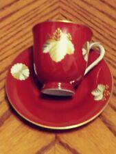 Noritake Demitasse Teacup and Saucer Set Danbury Mint Japan
