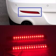 Rear Bumper Red LED Reflector tail Light Lamp For Mazda3 2010 2011 2012 2013