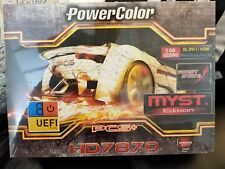 NEW Powercolor PCS+ HD 7870 Myst Tahiti LE 2GB GDDR5 AMD Mac Pro Compatible $159