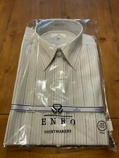 Enro EZCool Non-Iron Dress Shirt 16.5 35/36 Tall - Multi/Striped