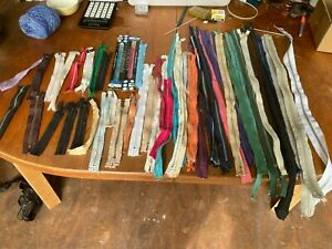 Vintage Assorted Zips x 50 Some New as per Photos