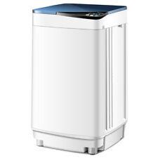 Full-Automatic Washing Machine 10 lbs Washer/Spinner Germicidal UV Light Blue