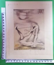 "EX LIBRIS 27 "" RARISSIMO EROTICO MANTERO ""- * MICHEL FINGESTEN *-C COLOR SIGNED!"