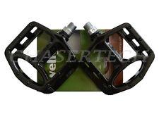 "New Wellgo MG-1 BMX Bicycle Bike Magnesium Pedals 9/16"" Black"