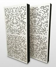 2X NEW Colour Binary Hybrid wall acoustic panel BASS TRAP sound studio home
