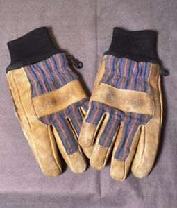 Marmot Leather Work Gloves - Medium