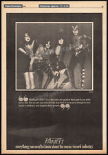 KISS__Original 1979 Trade print AD promo / poster__PAUL STANLEY__GENE SIMMONS...