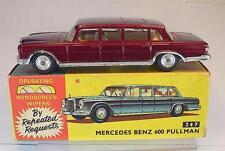 CORGI TOYS 247 Mercedes Benz 600 Pullmann rouge dans neuf dans sa boîte #5396