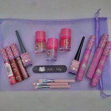 Hello Kitty Juego De Maquillaje-Uñas Y Maquillaje Conjunto de Regalo en Bolsa De Organza-Regalo Ideal