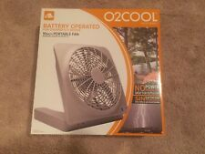 O2COOL 10 Inch Battery Operated Portable Fan FD10101