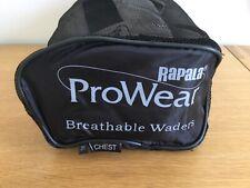 FISHING - RAPALA  - ProWear Breathable  Waders - Neoprene Socks -Size XL - New.