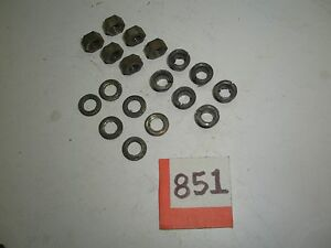 Toyota 4WD Pickup Truck 4Runner 6 of each: NUT, WASHER, CONE Manual Locking HUB