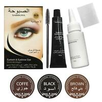 Professional Eyelash Eyebrow Dye Tint Gel Eye Brow Mascara Cream Set