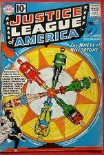 Justice League of America 6 DC Silver Age 1961 Origin 1st app Prof Amos Fortune
