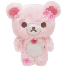 NEW San-X Sherbet Sakura Rilakkuma Korilakkuma S Plush Doll Stuffed Kawaii Japan