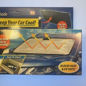Ontel Brella Shield Car Windshield Sun Shade For Car, Truck, SUV RV - UV blocker