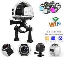 VR Vedio Car Action Camera 4K Wifi 16MP Waterproof HD Sports Cam Remote UT