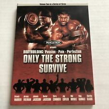 Only The Strong Survive (Dvd, Muscletech, Bodybuilding, Trilogy, Part 2) #B5