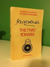 1965 The Two Towers JRR Tolkien Paperback 2nd Edition/3rd Printing w/Map