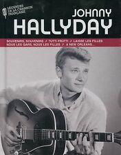 Johnny Hallyday (CD + Livre)