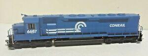 Athearn HO SDP45 Conrail Railroad 6687 ATH G63712 Soundtrax DCC Tsunami Sound