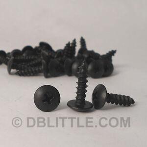 "Carton Of 6000 Hardened Black Oxide #10 X3/4"" Truss Head Self Tapping Screw"