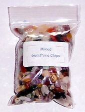 Bag of Mixed Gemstone Chips - c 75g, Decoration, Crafts, Mosaic