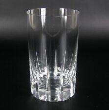 Rosenthal Glas / Becher Serie Patricia Wilhelm Wagenfeld Entwurf Keilschliff